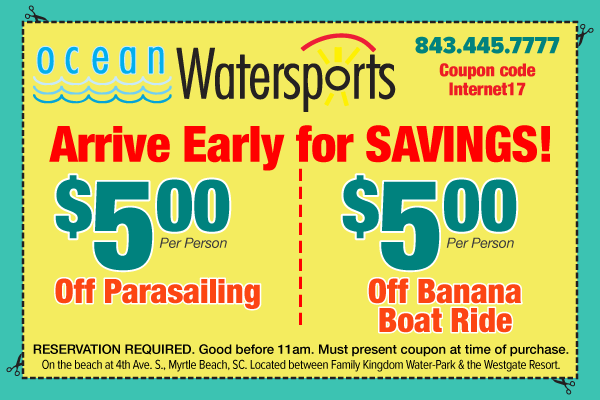 Ocean Watersports Early Bird Special